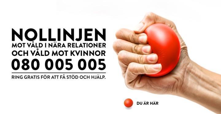 Nollinjen mot våld i nära relationer och våld mot kvinnor